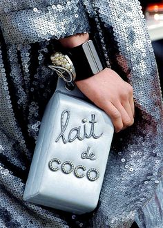 I prefer nonfat lait de Coco with my Chanel Flakes in the morning.