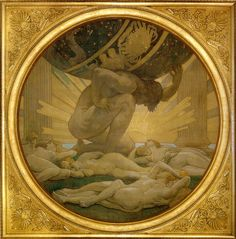 John Singer Sargent - Atlas and the Hesperides (1925)