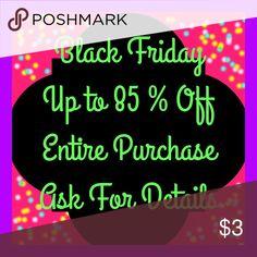Black Friday Black Friday Sale Bags