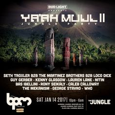 The BPM Festival 10th Anniversary - YA'AH MUUL Full lineup announced...: After making waves amongst the dance music community with the…