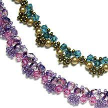 Crystal Lace Necklaces Pattern at Sova-Enterprises.com