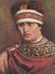 Władysław II (1105 - 1159). High Duke of Poland from 1138 until 1146, when he was exiled. He married Agnes of Badenberg and had four children.