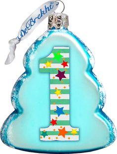 Keepsake 1 Mini Glass Ornament