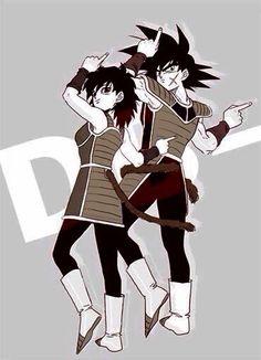 Dancing Saiyans!