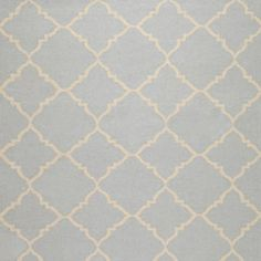 Frontier Pale Blue Hand Woven Wool Rug