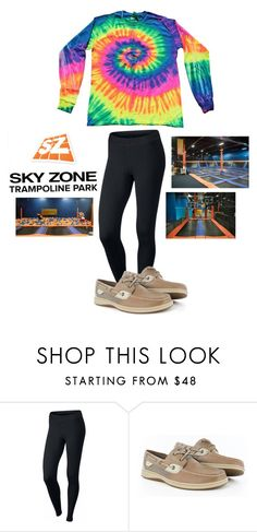 """Sky Zone "" by sydthekyd01 on Polyvore featuring NIKE, Sperry and Zone"