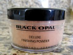 black opal finishing powder - Google Search.  Women of color are sleeping on this powder!