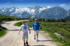 Fabulous walking at Velika Planina, Slovenia.