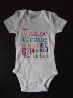 cute birth announcement!