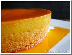 Best Leche Flan Chiffon Cake