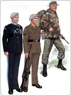22 SAS Uniforms late 70s