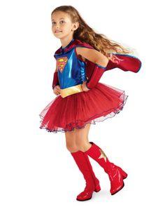 supergirl tutu girls costume