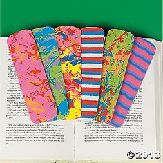 Funky Bookmarks
