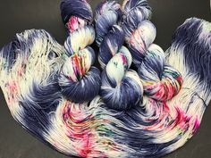 A personal favorite from my Etsy shop https://www.etsy.com/listing/571916136/jimmy-sock-hand-dyed-yarn-sock-yarn