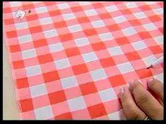 Valéria Soares - Cortina de Cozinha em Capitonê - YouTube