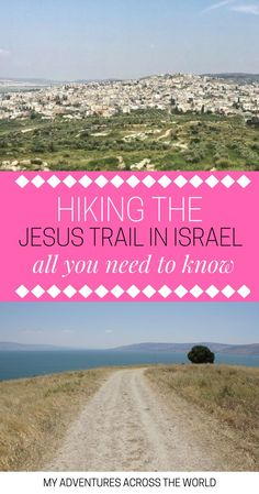 Hiking the Jesus Trail, Israel: going from the Lebanon border to Eilat, through the Negev desert, this is a beautiful hiking trail in the Middle East.   Hiking in Israel   Jesus Trail map   Israel hike   Israel hiking - via @clautavani