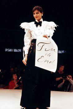 Ines de la Fressange for Chanel 1984