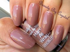Sally Hansen Hard As Nails Polish- STONY CREME- The perfect office appropriate color!!