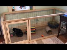 In this video I made a rabbit cage for my bunny Frankie. If you want more rabbit videos make sure to comment because I would love to make more! Diy Bunny Hutch, Diy Bunny Cage, Diy Bunny Toys, Bunny Cages, Rabbit Cages, Rabbit Cage Diy, Indoor Rabbit House, Rabbit Hutch Indoor, Indoor Rabbit Cage