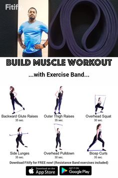 Resistance Bands Full Body Workout for Strength Resistance Band Exercises Workout Videos, Band Workouts, Workout Exercises, Forearm Workout, Flexibility Workout, Strength Workout, Couch Workout, Muscular Strength, Diets
