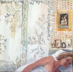 Dreaming of Scotland - Brita Granström Swedish,b.1969- Acrylic on canvas , 60 x 60 cm.