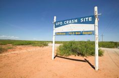 Roswell UFO Museum sign - the sighting has attracted renewed interest recently