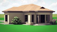 Round House Plans, Free House Plans, Simple House Plans, Garage House Plans, Bedroom House Plans, Modern House Plans, House Roof Design, Home Building Design, Building Plans