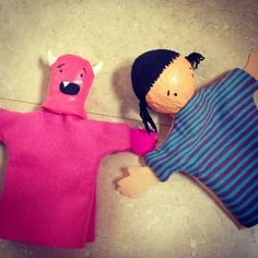 DIY marionetas títeres Yo mataré monstruos por ti Diy Y Manualidades, Puppet, Infant Crafts, Short Stories, Creativity, Blue Prints