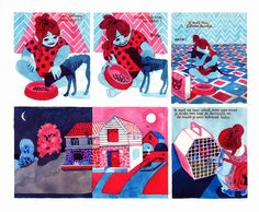 La Belle Illustration: Brecht Evens, nouveautés chez Actes Sud, novembre 2015 Tom Bagshaw, Comic Frame, Art Fantaisiste, Comics Story, Dengeki Daisy, Art Deco Posters, Pokemon Cosplay, Vampire Knight, Mexican Folk Art