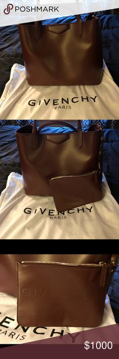 Givenchy large antigona tote Authentic large givenchy tote, like new, no signs of wear, comes with removable pouch and dust bag Givenchy Bags Totes
