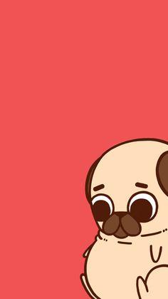 Dog Training –Training for Proper Dog Behavior Wallpaper Pug, Couple Wallpaper, Kawaii Wallpaper, Wallpaper Iphone Cute, Wallpaper Backgrounds, Cute Kawaii Drawings, Cute Animal Drawings, Pug Kawaii, Wallpaper Bonitos