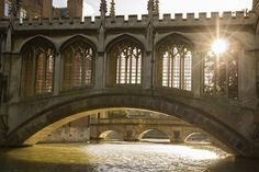 A sunny winter's day at the Bridge Of Sighs, St John's College, Cambridge University.   www.scudamores.com Cambridge Architecture, St Johns College, Cambridge University, Winter Day, St John's, Barcelona Cathedral, England, Explore, Building