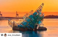 "Sannheten er ar hun sier ikke sannheten. #reisetips #reiseliv #reiseblogger  #Repost @eva_knudsen with @repostapp  ""She Lies"" is a public sculpture located in the harbor basin beside Oslo Opera House  #shelies  _____________________________________________ #sunset #fever_natura #h2o_natura #sunrise_sunsets_aroundwold #norgesbeste #Oslobilder #visitoslo #oslouteliv #nature #sculpture #naturephotography #Ig_Nature #ig_captures_nature #nature_perfection #dreamynorway #norway2day #Ig_daily…"