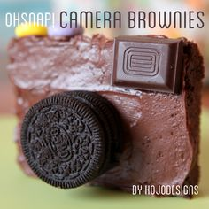 camera brownies. So making these for a friend's farewell party!