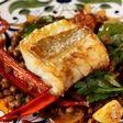 Cod and lentil tapas recipe