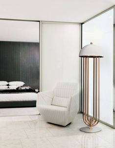 Contemporary Floor Lamps for Living Room Contemporary Floor Lamp Design Ideas that You Will Love Contemporary Floor Lamps, Modern Floor Lamps, Cool Floor Lamps, Contemporary Bedroom, Modern Ceiling, Contemporary Design, Living Room Flooring, Bedroom Flooring, Living Room Lighting