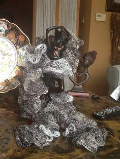 Handmade crochet scarf $15.00