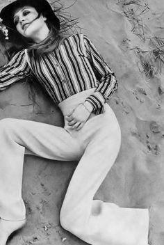 Ingrid Boulting photo Just Jaeckin Vogue UK 1968