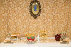 Snow White theme bridal shower. Dessert table Snow White Wedding, Dessert Table, Bridal Shower, Home Decor, Shower Party, Decoration Home, Bar Cart, Room Decor, Bridal Showers