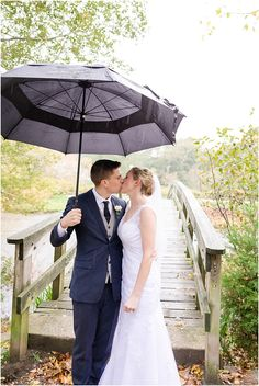 Rainy Plymouth wedding day