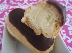 Gluten Free Chocolate Eclair Recipe from Glutenista