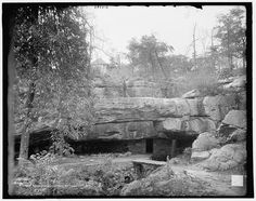 8 x 10 in. Civil Wars, Natural Bridge, Tennessee, Pictures, Photos, Rock, History, City, Glass