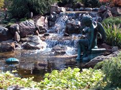 Landscaping Ponds | Smalls Landscaping - Valparaiso, Indiana - Ponds and Waterfalls