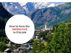 The imperative in Italian is used to give orders or exhortations. As you will find out it is a rather regular tense. Also, the imperative exists just in the present tense! And the first and third persons singular (IO e LUI/LEI) do not exist.  TU and VOI are the same as in the indicative, […]