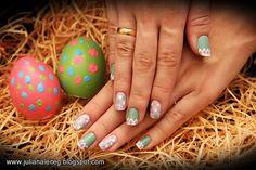 juliana leite blog unhas decoradas para a pascoa 2014 easter nail art painted egg tons pasteis fácil