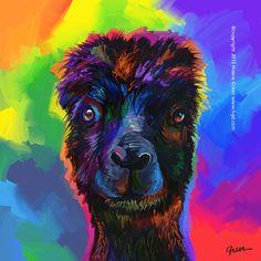 https://flic.kr/p/LPgr2m   Pop Art Alpaca doodle   See more of my art at www.hgd.com