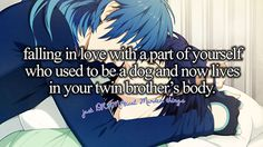 Aoba and Ren   Quotes   Well... when u put it that wayyyy... *still ships*   DRAMAtical Murder☆