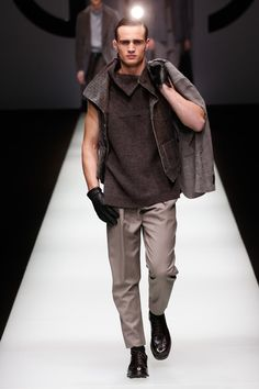 Giorgio Armani | Menswear - Autumn 2018 | Look 6