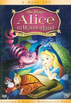 DISNEY'S -- ALICE IN WONDERLAND -- 2-DISC DVD -- ANIMATED MOVIE -- MICKEY MOUSE