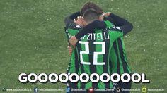 football goal gol calcio sassuolo esultanza football player sassuolocalcio via diggita